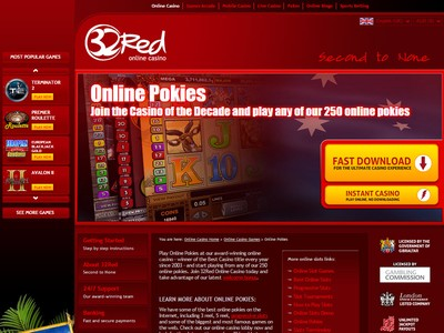32Red Online Casino Holiday Package Promos