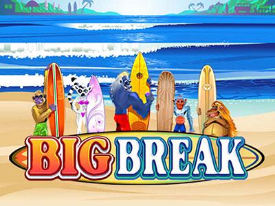 Big Break Surfing Themed Online Pokie