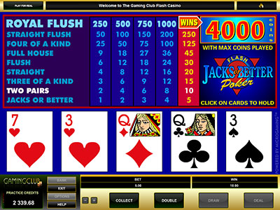 Microgaming Online Video Poker Games