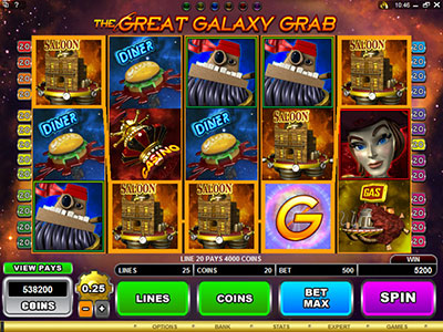 The Great Galaxy Grab Online Pokie