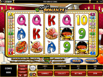 Buffet Bonanza For Gourmand Online Casino Player