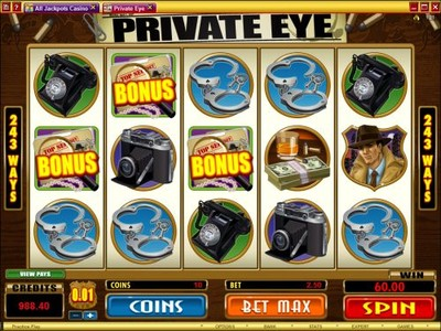 Private Eye Online Pokie Has Exciting Bonus Features