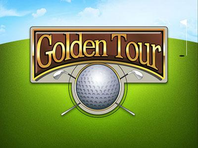 The Golden Tour Golf Themed Online Pokie