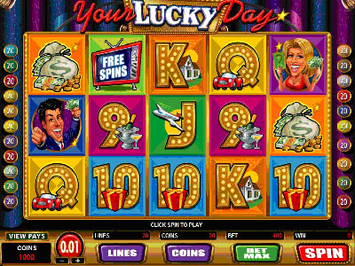 Your Lucky Day Online Pokie