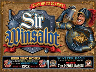 Sir Winsalot Medieval Theme Pokie