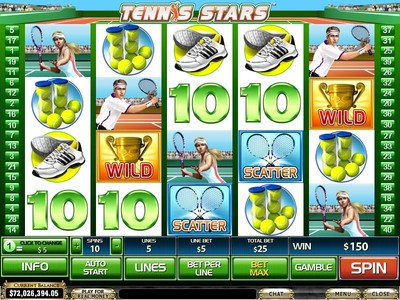 Tennis Pokies at Australian Online Casinos