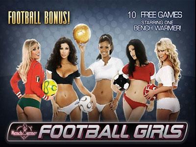 Playtech Benchwarmer Football Girls Online Pokie