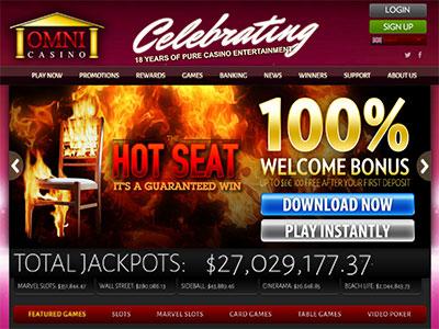 May End Online Bonuses At Omni Casino