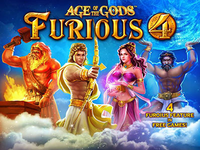 Playtech Age Of The Gods Online Pokies