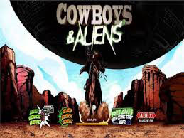 Cowboy And Aliens Branded Online Pokie