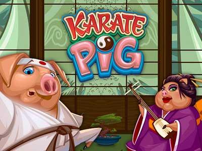 Karate Pig Microgaming Online Pokie