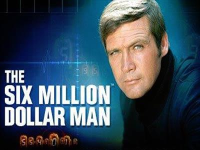The Six Million dollar Man Branded Pokie
