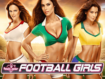 Benchwarmer Football Girls Pokie Combines Fashion With Sport