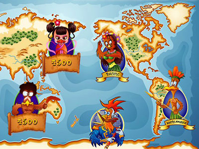 Discover The World In Lucky Eggsplorer Online Pokie