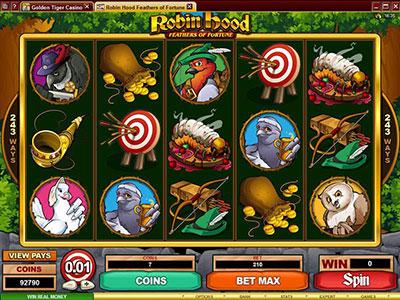 Robin Hood In Australian Online Pokies