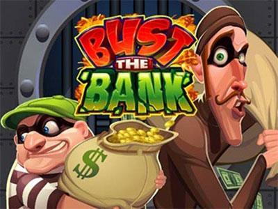 A Comic Bank Heist In An Online Pokie