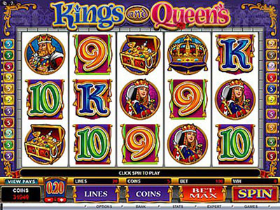 Kings And Queen Online Pokie