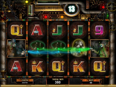 Ghostbusting Online Pokie Phantom Cash