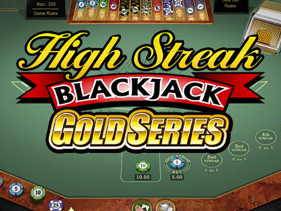 A High Variance Online Blackjack Game