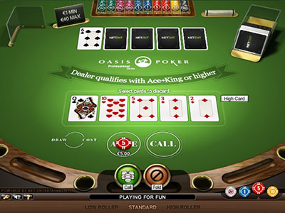 Take The Oasis Poker Challenge At Casino Mate