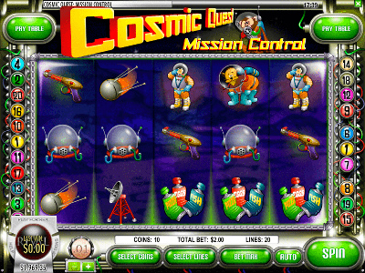 The Cosmic Quest Online Pokies