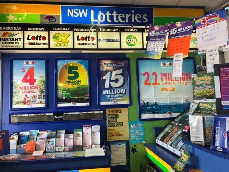 NSW Lotteries Casino Pensioner wins $2000.000
